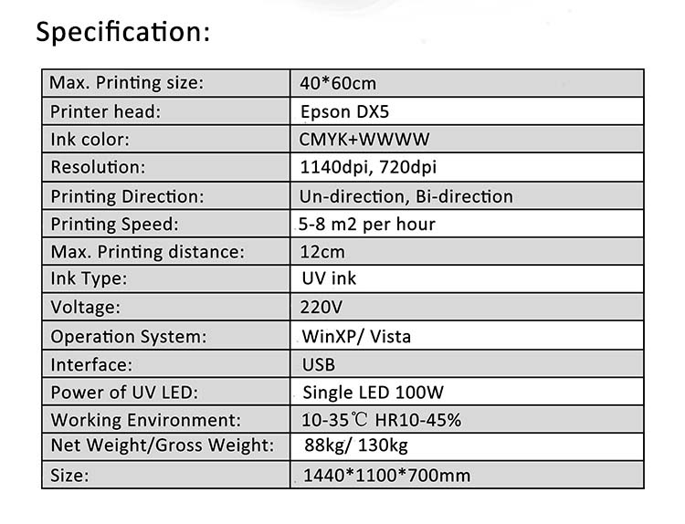 APEX-4060UV - LED UV nyomtató 6a71e5e031